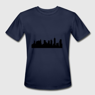 Awesome Brooklyn Skyline Brooklyn - Men's Moisture Wicking Performance T-Shirt