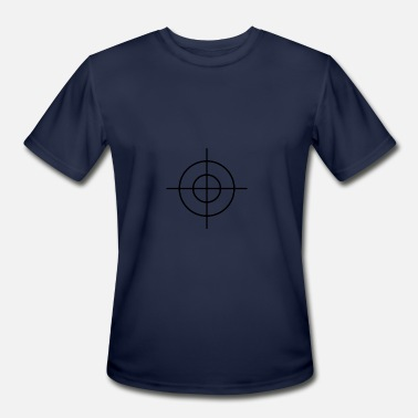 Sniper Crosshair Crosshair - Men's Moisture Wicking Performance T-Shirt