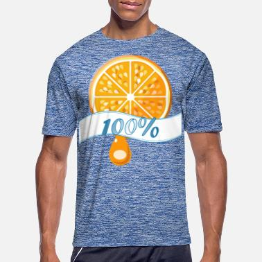 Orange Juice 100 percent Orange Juice - Men's Sport T-Shirt