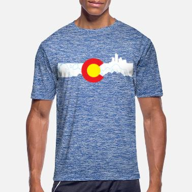 Denver Colorado skyline - Denver - Men's Sport T-Shirt