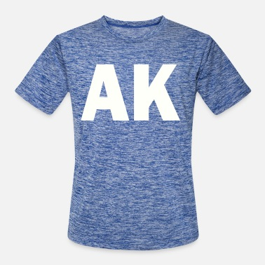 Akseli PLACE AND TIME AK WHITE - Men's Sport T-Shirt