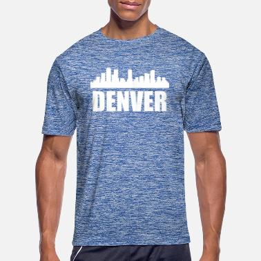 Denver Denver CO Skyline - Men's Sport T-Shirt