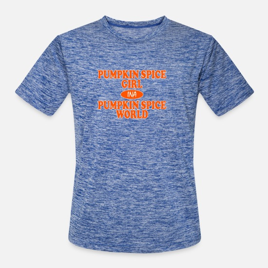 Spice T-Shirts - Pumpkin Spice GIRL - Men's Sport T-Shirt heather blue