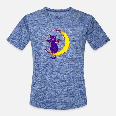 Gothic Moon Cat31 - Men's Sport T-Shirt