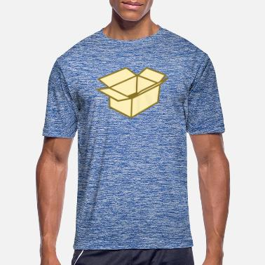 Cardboard Cardboard box - Men's Sport T-Shirt