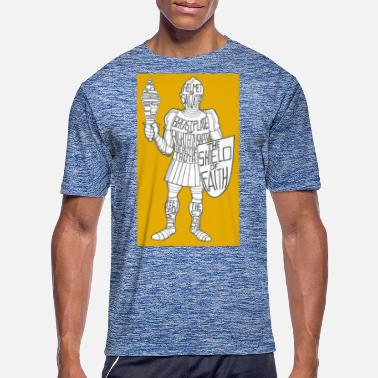 Suit Of Armor Dave The Cat Suit Of Armor GOLD - Men's Sport T-Shirt