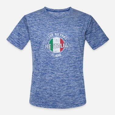 Italian Have No Fear The Italian Is Here - Men's Sport T-Shirt