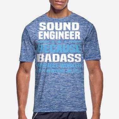 Sound Sound Engineer - Men's Sport T-Shirt