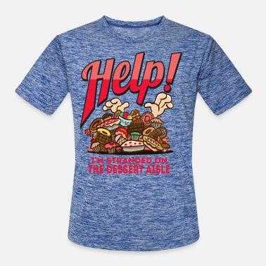 9335577c Dieter Funny dessert pun for overweight dieters who love - Men's Sport.  New. Men's Sport T-Shirt