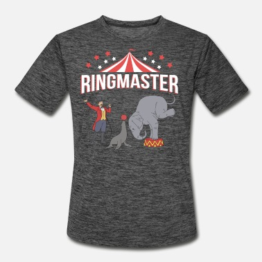 Ringmaster Teacher Circus Event Staff Circus Gifts Circus Ringmaster - Men's Sport T-Shirt