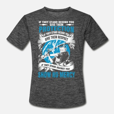 Luffy One piece - Protect them if they stand behind yo - Men's Sport T-Shirt