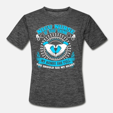 Nicu Nurse T Shirt - Men's Sport T-Shirt