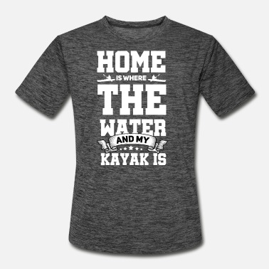 Kayaking Yak Paddle Gift I Kayak Kayaker - Men's Sport T-Shirt