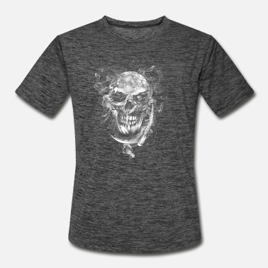 Pirate Party Grimm Skull - Men's Sport T-Shirt