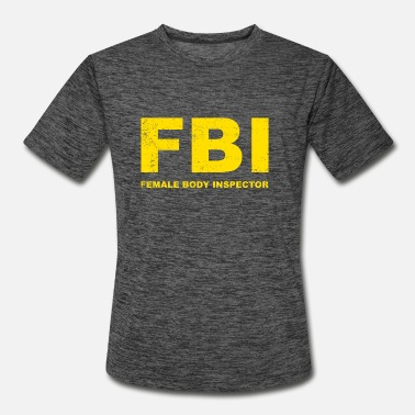 Inspector FBI Female Body Inspector - Men's Sport T-Shirt