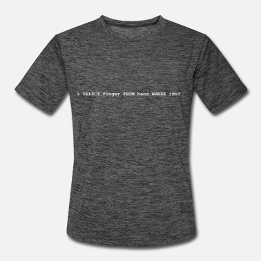 Just Did It What did you just do? - Men's Sport T-Shirt