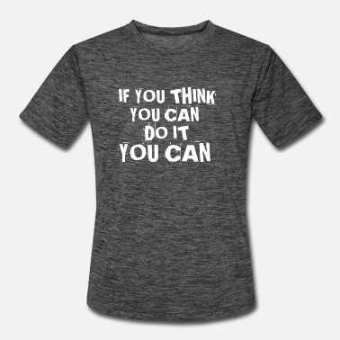 Self-confidence Quote about self confidence - Men's Sport T-Shirt
