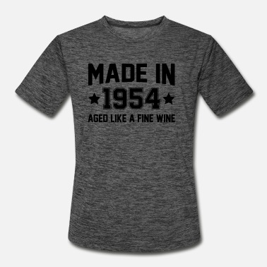 Aging Made In 1954 Aged Like A Fine Wine - Men's Sport T-Shirt