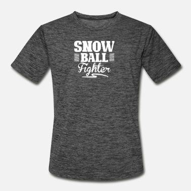 Snowballs Snowball Fight - Men's Sport T-Shirt