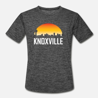 Knoxville Knoxville Tennessee Sunset Skyline - Men's Sport T-Shirt