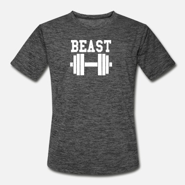 Gym Beast Beast Gym - Men's Sport T-Shirt