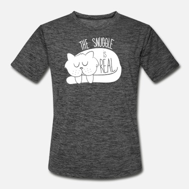 Snuggle The Snuggle - Men's Sport T-Shirt