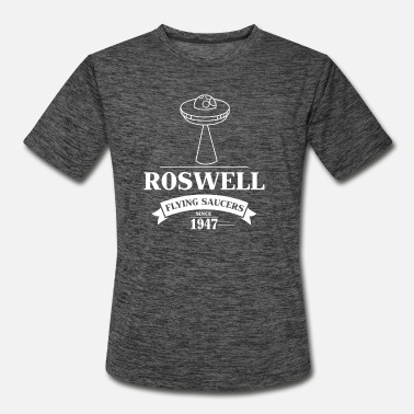 Saucer Funny UFO - Flying Saucer Roswell - Ship Humor - Men's Sport T-Shirt