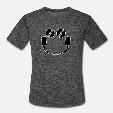 Smiley Headphones Smiley Headphones - Men's Sport T-Shirt