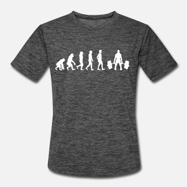 Lifting Evolution Weight Lifting - Men's Sport T-Shirt