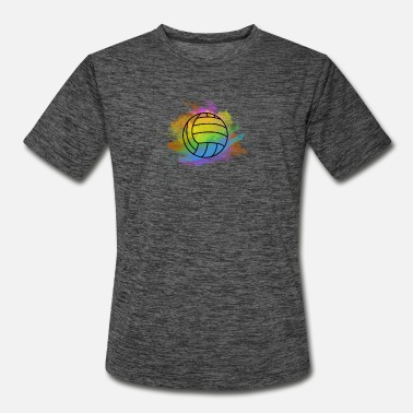 Beach Volleyball volleyball colorful bright cool nice gift idea - Men's Sport T-Shirt