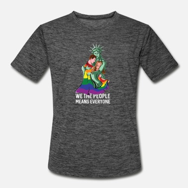 We The People Means Everyone LGBT - Men's Sport T-Shirt