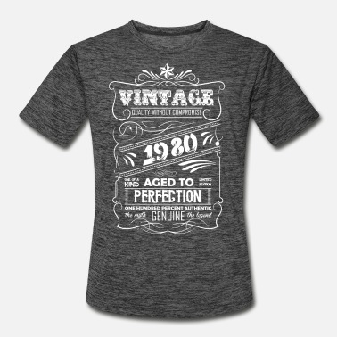 Aged Vintage Aged To Perfection 1980 - Men's Sport T-Shirt