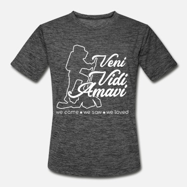 Veni vidi amavi we came we saw we loved - Men's Sport T-Shirt