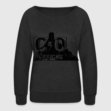 C&O mountain Logo - Women's Crewneck Sweatshirt