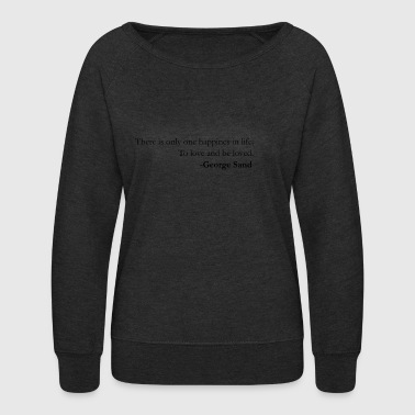 Lessons A lesson in love - Women's Crewneck Sweatshirt