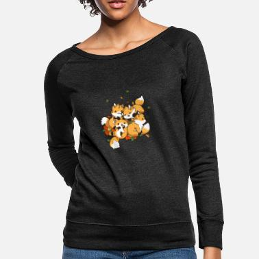 Playful Playful Foxes - Women's Crewneck Sweatshirt