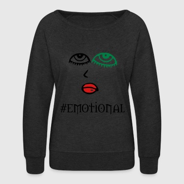 emotional - Women's Crewneck Sweatshirt