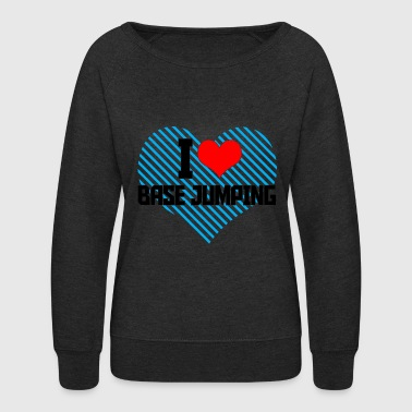 Base Jumping Base jumping - Women's Crewneck Sweatshirt