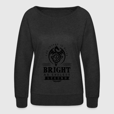 BRIGHT - Women's Crewneck Sweatshirt