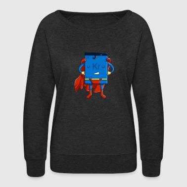 Krypton Man - Women's Crewneck Sweatshirt