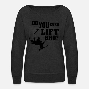 Ski Lift Lift skiing - Women's Crewneck Sweatshirt