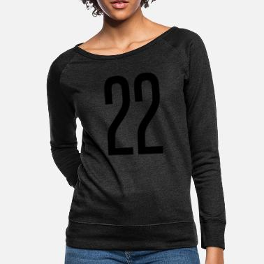 Specific Age tall number 22 - Women's Crewneck Sweatshirt