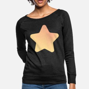 Big Stars big star, yellow star - Women's Crewneck Sweatshirt
