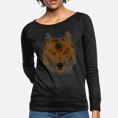 Love Wolves Loving Wolves T Shirt - Women's Crewneck Sweatshirt