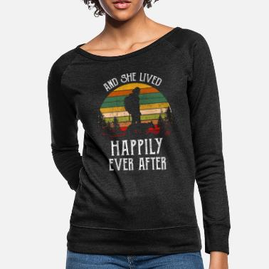 After And She Lived Happily Ever After - Women's Crewneck Sweatshirt