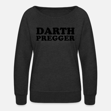 Darth Darth Pregger - Women's Crewneck Sweatshirt