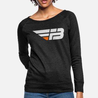 Factor B FBL White & Orange (nname - Women's Crewneck Sweatshirt