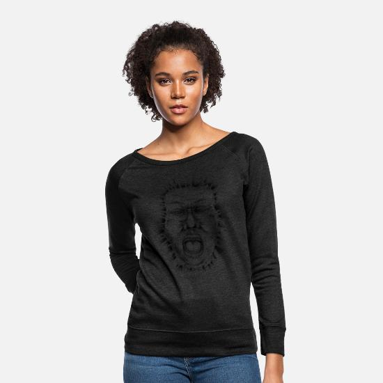 Angers Hoodies & Sweatshirts - ANGER - Women's Crewneck Sweatshirt heather black