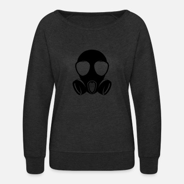 Gas Mask Gas Mask - Women's Crewneck Sweatshirt