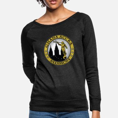 Accra Ghana Accra Mission - LDS Mission Classic Seal - Women's Crewneck Sweatshirt